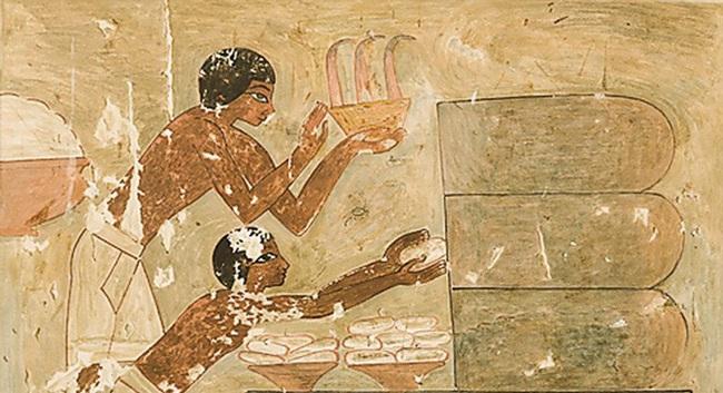 Ngỡ ngàng độc chiêu vệ sinh cơ thể của người Ai Cập cổ đại - Ảnh 1.