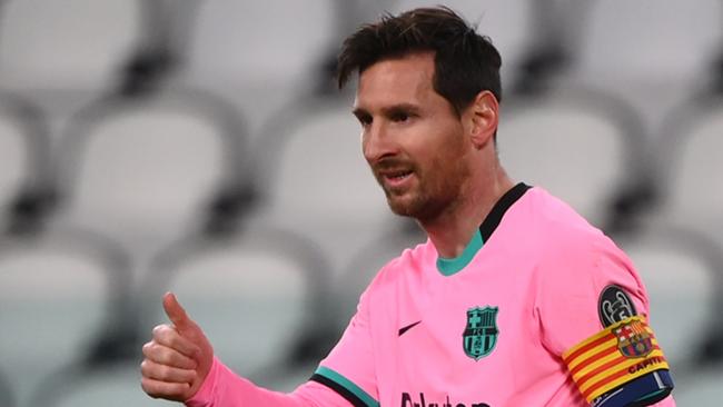 Ghi bàn giúp Barca hạ Juve, Messi được ví von với... Harry Porter - Ảnh 1.