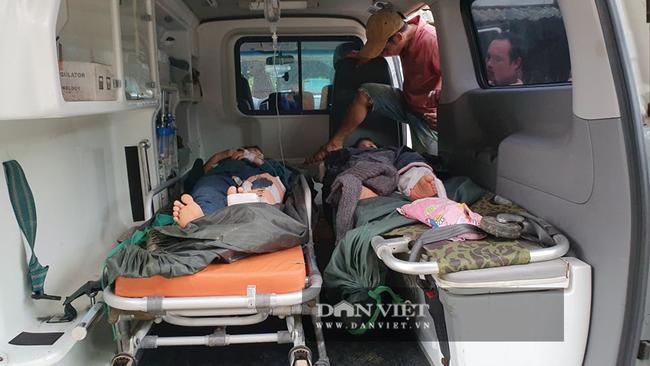 Sạt lở vùi lấp 34 người ở Quảng Nam: Tìm đường chuyển 5 người bị thương đi cấp cứu - Ảnh 2.