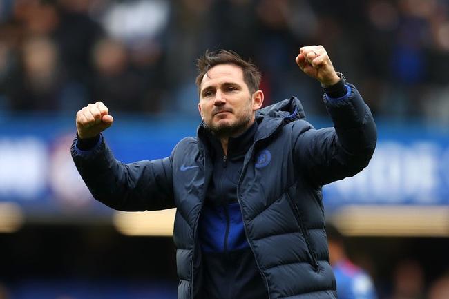 Lampard hài lòng với tinh thần thi đấu của Chelsea