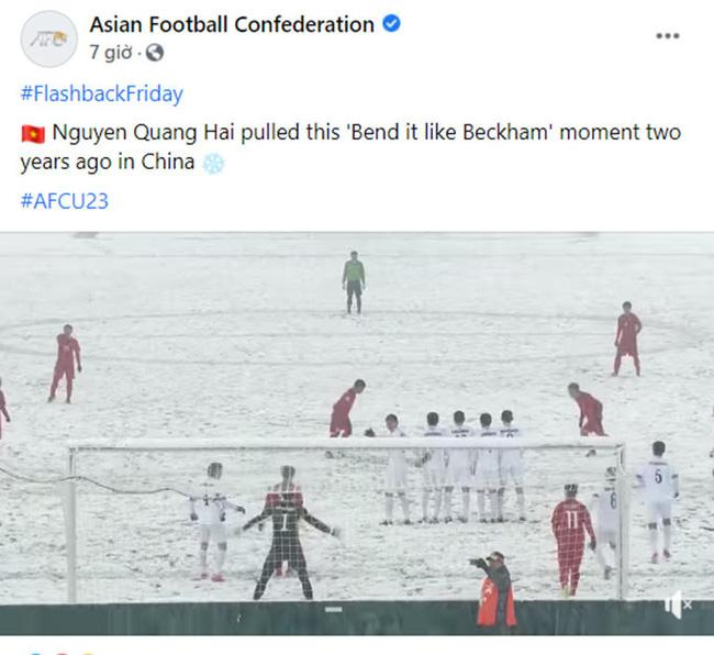 AFC: Quang Hải đá phạt như Beckham vẽ đường cong - Ảnh 1.