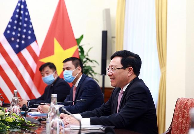 CHÙM ẢNH: Phó Thủ tướng, Bộ trưởng Bộ Ngoại giao Phạm Bình Minh đón, hội đàm Ngoại trưởng Hoa Kỳ - Ảnh 6.