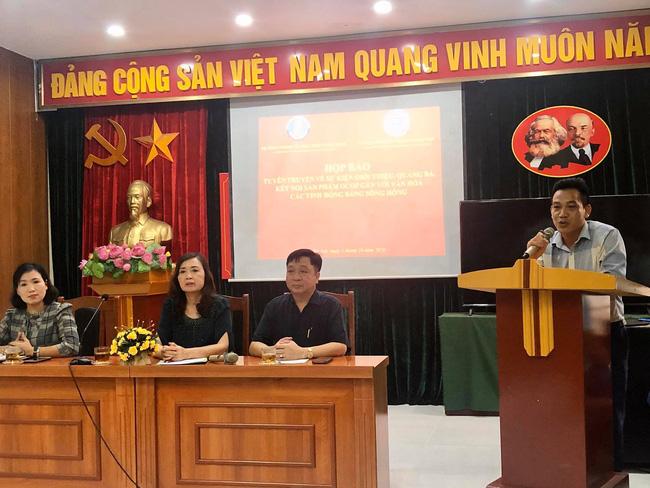 Hà Nội: Họp báo sự kiện quảng bá 150 sản phẩm OCOP, tặng 10.000 cây lan quý cho Vườn Quốc gia Ba Vì - Ảnh 1.