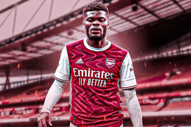 Thomas Partey đến Arsenal với mức phí 45 triệu bảng