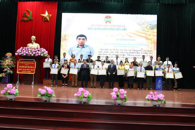 Sơn La kỷ niệm 90 năm ngày thành lập Hội Nông dân Việt Nam - Ảnh 9.