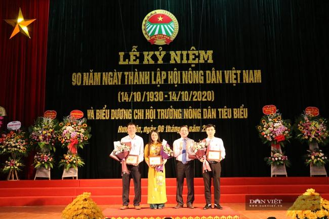 Hội ND tỉnh Hưng Yên: 74 nghìn hộ nông dân sản xuất, kinh doanh giỏi, biểu dương 90 chi hội trưởng nông dân tiêu biểu - Ảnh 1.