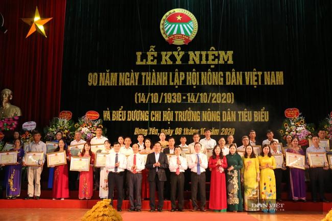 Hội ND tỉnh Hưng Yên: 74 nghìn hộ nông dân sản xuất, kinh doanh giỏi, biểu dương 90 chi hội trưởng nông dân tiêu biểu - Ảnh 4.
