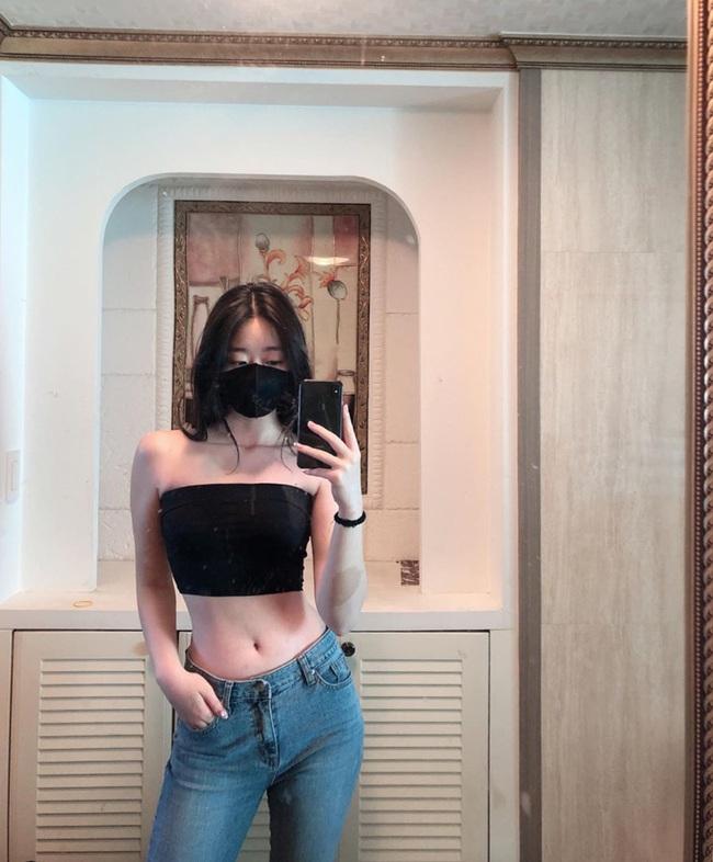 Nữ HLV gym người Hàn Quốc xinh như thiên thần - Ảnh 1.