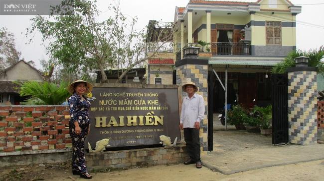 """Quảng Nam: """"Con đẻ"""" của làng nghề nước mắm truyền thống Cửa Khe đổi đời nhờ lưu giữ vị ngọt của biển - Ảnh 6."""