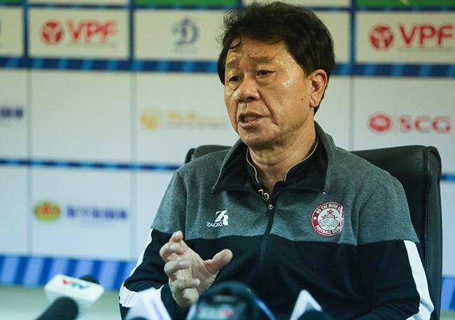 HLV Chung nói lời chia tay với TP.HCM.