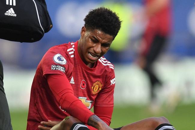 Rashford lỡ cơ hội đá 2 trận trên tuyển.