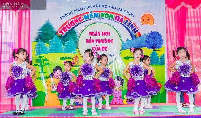 Trường mầm non Hà Lĩnh: Nâng cao chất lượng hoạt động chăm sóc, giáo dục trẻ - Ảnh 2.