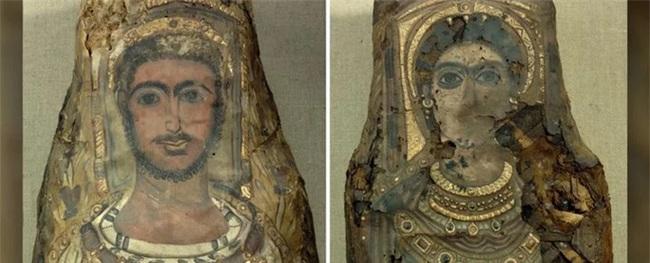 Rùng mình 3 bức tượng dát vàng là xác người 2.000 năm phủ vữa - Ảnh 1.