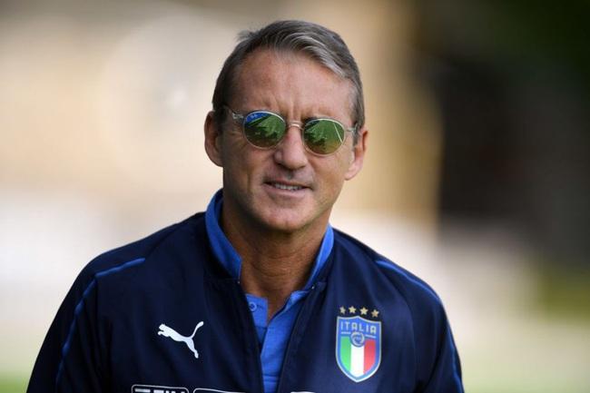 HLV Mancini hài lòng về chiến thắng.