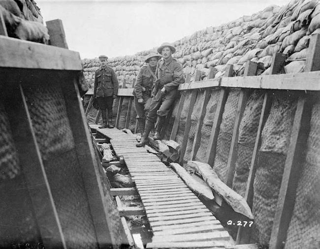 Nét kinh điển trong thiết kế chiến hào thời Chiến tranh Thế giới thứ nhất - Ảnh 7.