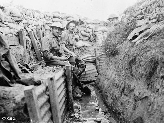Nét kinh điển trong thiết kế chiến hào thời Chiến tranh Thế giới thứ nhất - Ảnh 10.