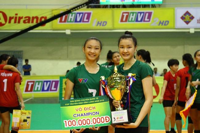 Cặp chị em bóng chuyền Việt Nam: Sắc nước hương trời, tài năng thiên phú - Ảnh 1.