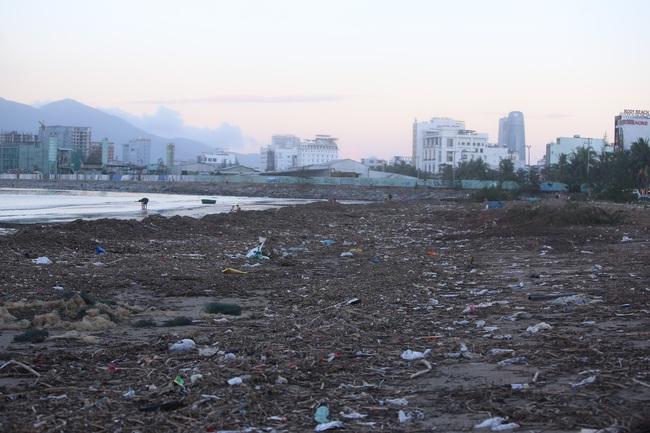 """ẢNH: Bãi biển """"đẹp nhất hành tinh"""" ngập ngụa trong rác sau bão số 13 - Ảnh 9."""