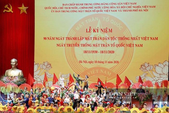 Lãnh đạo Đảng, Nhà nước dự Lễ kỷ niệm Ngày truyền thống Mặt trận Tổ quốc Việt Nam - Ảnh 11.