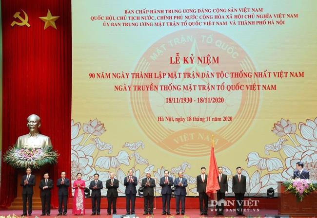 Lãnh đạo Đảng, Nhà nước dự Lễ kỷ niệm Ngày truyền thống Mặt trận Tổ quốc Việt Nam - Ảnh 12.
