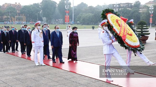 Lãnh đạo Đảng, Nhà nước dự Lễ kỷ niệm Ngày truyền thống Mặt trận Tổ quốc Việt Nam - Ảnh 13.