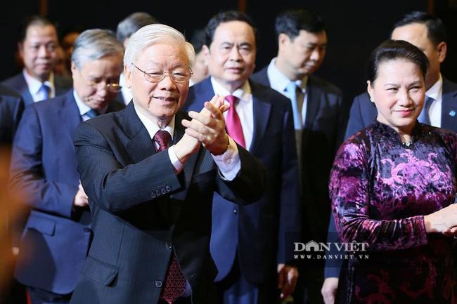 Lãnh đạo Đảng, Nhà nước dự Lễ kỷ niệm Ngày truyền thống Mặt trận Tổ quốc Việt Nam - Ảnh 2.