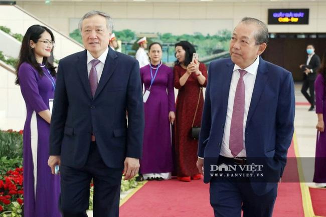 Ảnh: Lãnh đạo Đảng, Nhà nước dự Lễ kỷ niệm Ngày truyền thống Mặt trận Tổ quốc Việt Nam - Ảnh 5.