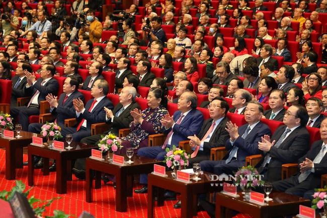 Lãnh đạo Đảng, Nhà nước dự Lễ kỷ niệm Ngày truyền thống Mặt trận Tổ quốc Việt Nam - Ảnh 9.