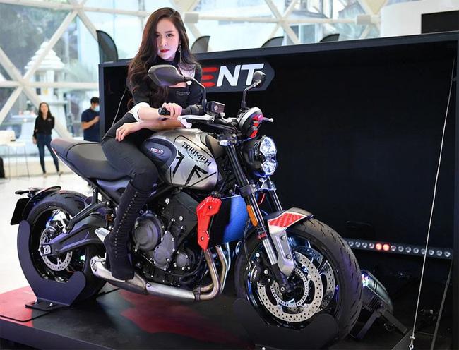 Triumph Trident 660 - Mẫu nakedbike sở hữu nhiều công nghệ mới - Ảnh 2.