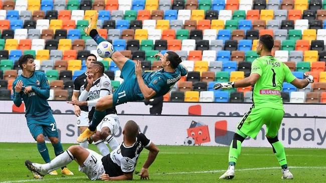 Ibrahimovic đạt phong độ rất cao dù đã 39 tuổi