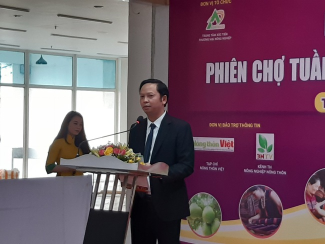 Huế: Tha hồ chọn mua nông sản chất lượng tại phiên chợ Tuần nông sản an toàn thực phẩm 2020 - Ảnh 2.