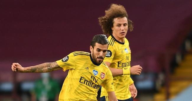 David Luiz và Dani Ceballos.