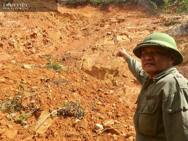 Thanh Hoá: Hàng chục hộ dân sống thấp thỏm dưới chân núi Cát Dương - Ảnh 1.