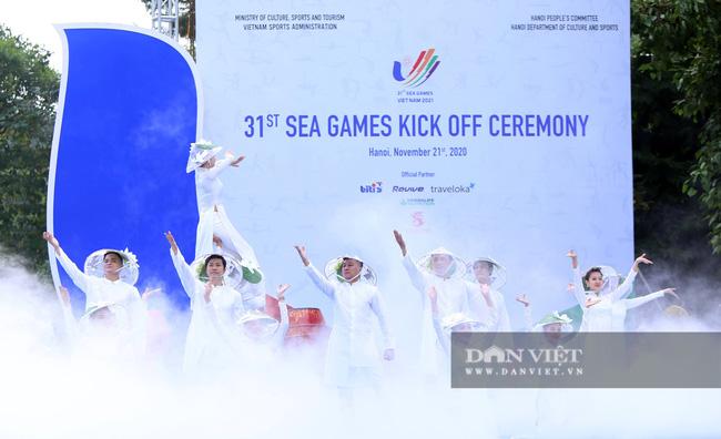 Hình ảnh khởi động lễ đếm ngược một năm trước SEA Games 31 - Ảnh 1.