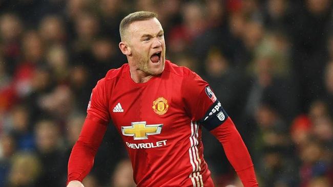 Wayne Rooney là biểu tượng ở Old Trafford.