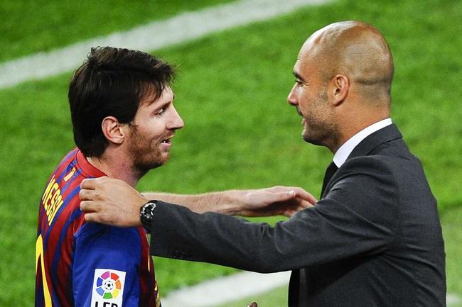 Messi và Pep Guardiola có mối quan hệ thân thiết.