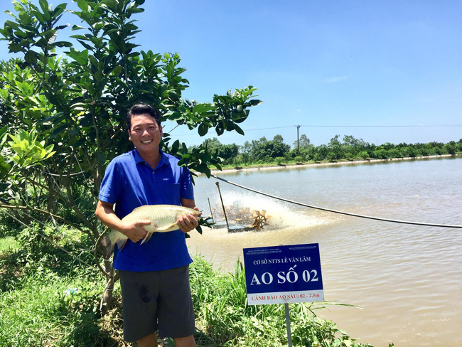 Đầu tư nuôi cá VietGAP, thu nhập hơn 3 tỷ đồng/năm - Ảnh 1.