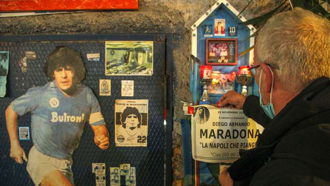 Napoli muốn tôn vinh Maradona.