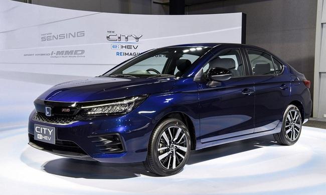 Honda City e:HEV ra mắt - Mẫu hybrid giá chỉ từ 27.700 USD - Ảnh 2.