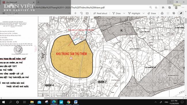 Bằng chứng nào thể hiện nhà, đất tại 5 khu phố thuộc 3 phường nằm ngoài ranh Khu đô thị mới Thủ Thiêm - Ảnh 2.