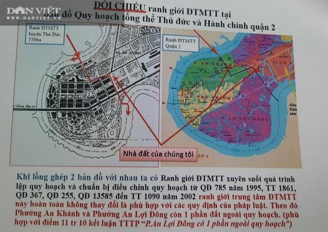 Bằng chứng nào thể hiện nhà, đất tại 5 khu phố thuộc 3 phường nằm ngoài ranh Khu đô thị mới Thủ Thiêm - Ảnh 1.