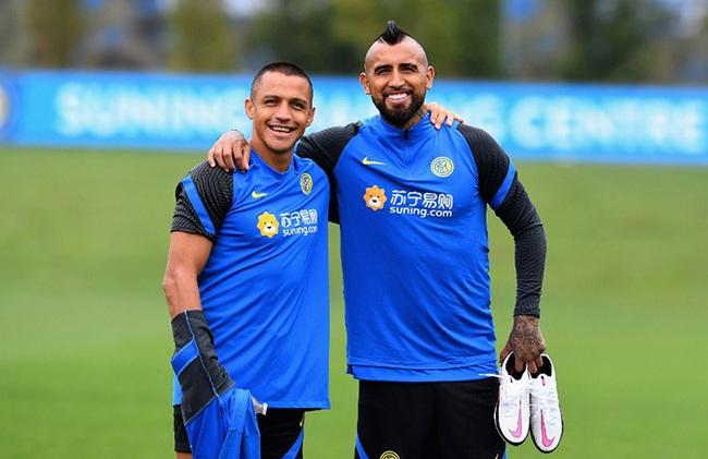Vidal đang hạnh phúc ở Inter
