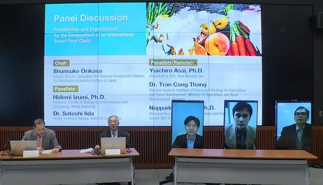 Hội nghị trực tuyến quốc tế đầu tiên về tối ưu hóa chuỗi cung cấp thực phẩm toàn cầu - Ảnh 1.