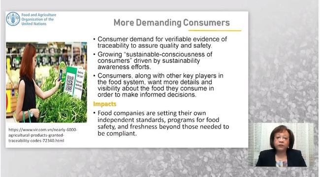 Hội nghị trực tuyến quốc tế đầu tiên về tối ưu hóa chuỗi cung cấp thực phẩm toàn cầu - Ảnh 4.