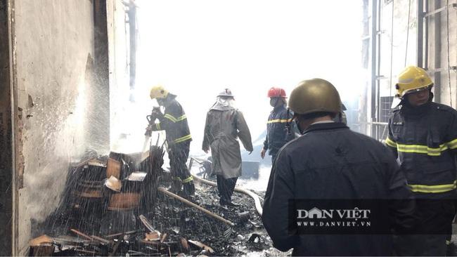 Hình ảnh cháy lớn tại ngoại thành Hà Nội - Ảnh 5.