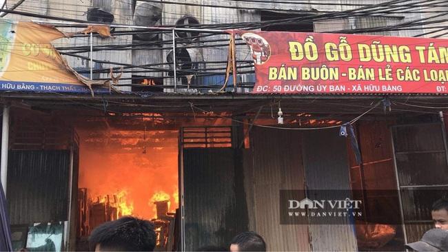 Hình ảnh cháy lớn tại ngoại thành Hà Nội - Ảnh 8.