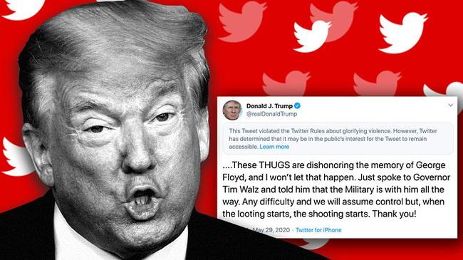 """Trump bị người theo dõi trên Twitter """"bỏ rơi"""" vì thua Biden - Ảnh 1."""