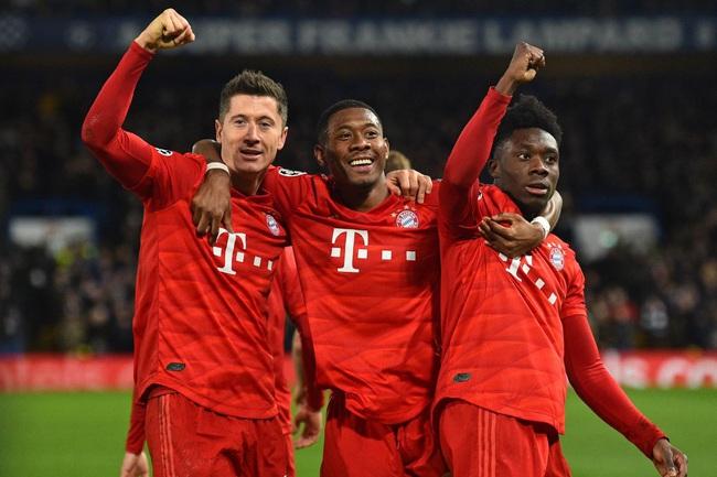 Bayern Munich đang là nhà ĐKVĐ Champions League.