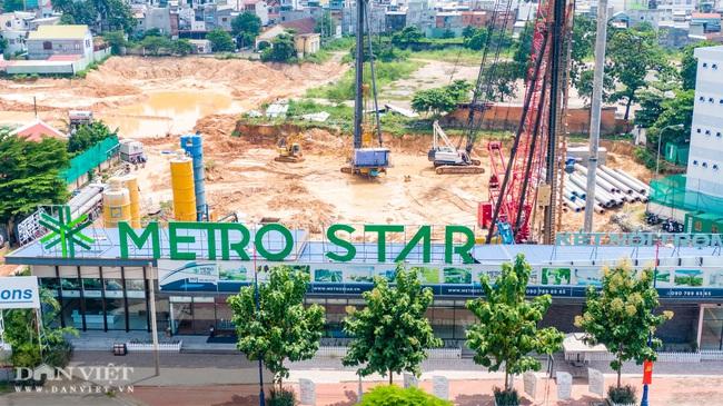 Định giá lại khu đất công đang xây dựng dự án Metro Star - Ảnh 1.