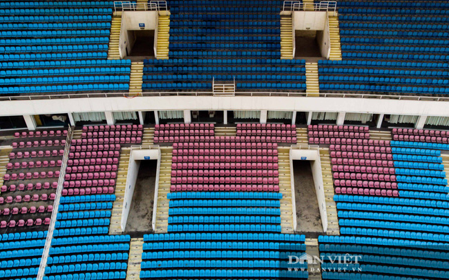 Cận cảnh sân vận động Mỹ Đình tu sửa phục vụ Sea Game 31 - Ảnh 3.